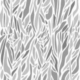 Teste padrão sem emenda abstrato do vetor com pontos curvados Gotas no dif Fotos de Stock Royalty Free