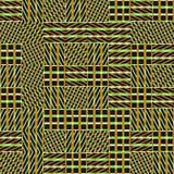 Teste padrão sem emenda abstrato do vetor de cruzar o orname diagonal Foto de Stock Royalty Free