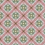 Teste padrão sem emenda abstrato do vintage, projeto de matéria têxtil Imagens de Stock Royalty Free