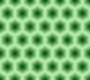 Teste padrão sem emenda abstrato dos hexágonos. ilustração stock