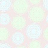 Teste padrão sem emenda abstrato nas cores pastel Imagem de Stock Royalty Free