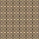 Teste padrão sem emenda abstrato no estilo egípcio Nenhum curso Imagens de Stock Royalty Free