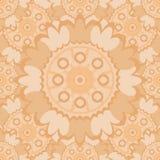 Teste padrão sem emenda abstrato pálido com elementos decorativos redondos Fotografia de Stock Royalty Free