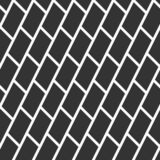 Teste padrão sem emenda abstrato textura à moda moderna Repetir telhas geométricas com diagonal santed tijolos enchidos ilustração stock