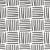 Teste padrão sem emenda abstrato tirado mão ilustração stock