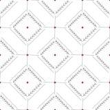 Teste padrão sem emenda abstrato tirado mão Fundo minimalistic geométrico no estilo escandinavo Textura elegante para ilustração do vetor