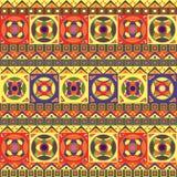 Teste padrão sem emenda africano Fotografia de Stock