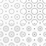 teste padrão 4 sem emenda ajustado das estrelas Estrelas azuis múltiplas Fotografia de Stock Royalty Free