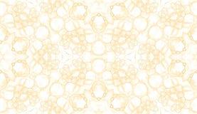 Teste padrão sem emenda amarelo Sabão delicado atrativo ilustração stock