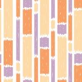 Teste padrão sem emenda azul das listras verticais da pintura ilustração do vetor