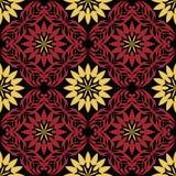 Teste padrão sem emenda barroco Imagem de Stock Royalty Free