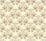 Teste padrão sem emenda barroco Foto de Stock Royalty Free