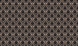 Teste padrão sem emenda bege do papel de parede Fotografia de Stock