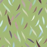 Teste padrão sem emenda bonito das folhas de outono Ilustração Stock