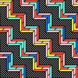 Teste padrão sem emenda brilhante colorido Imagem de Stock