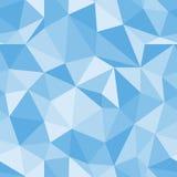 Teste padrão sem emenda brilhante Fundo do vetor do triângulo do diamante Foto de Stock Royalty Free