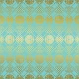 Teste padrão sem emenda chinês do ouro verde