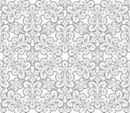 Teste padrão sem emenda cinzento Imagens de Stock