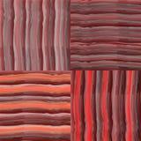 Teste padrão sem emenda colorido listrado e quadriculado do Grunge Fotografia de Stock