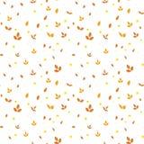 Teste padrão sem emenda com as folhas coloridas do vetor ilustração do vetor