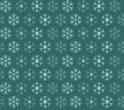 Teste padrão sem emenda com azul e flocos de neve do White Christmas Foto de Stock