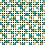 Teste padrão sem emenda com círculos brilhantes Foto de Stock Royalty Free