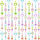 Teste padrão sem emenda com corações pequenos Fotografia de Stock Royalty Free