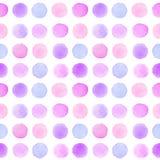 Teste padrão sem emenda com cursos multicoloridos da escova Fotos de Stock