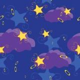 Teste padrão sem emenda com estrelas ilustração stock