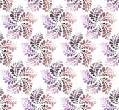 Teste padrão sem emenda com flores abstratas Foto de Stock