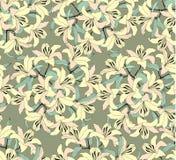 Teste padrão sem emenda com flores amarelas Imagens de Stock Royalty Free