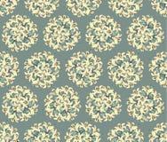 Teste padrão sem emenda com flores amarelas Fotografia de Stock
