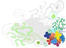 Teste padrão sem emenda com folhas coloridas Fotografia de Stock