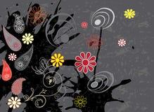 Teste padrão sem emenda com folhas coloridas Foto de Stock Royalty Free