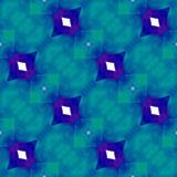 Teste padrão sem emenda com formas de repetição florais coloridas ilustração do vetor