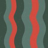 Teste padrão sem emenda com imagem abstrata das ondas e das listras Foto de Stock Royalty Free