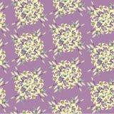 Teste padrão sem emenda com lírio das flores Fotos de Stock Royalty Free