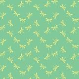 Teste padrão sem emenda com libélulas Foto de Stock Royalty Free