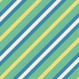 Teste padrão sem emenda com listras diagonais ilustração royalty free