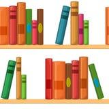 Teste padrão sem emenda com livros Fotos de Stock