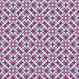 Teste padrão sem emenda com mosaico colorido Foto de Stock Royalty Free