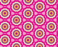 Teste padrão sem emenda com o ornamento multicolor abstrato Foto de Stock Royalty Free