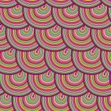 Teste padrão sem emenda com ondas. ilustração royalty free