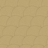 Teste padrão sem emenda com ondas. ilustração do vetor