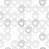Teste padrão sem emenda com ondas espirais Imagens de Stock