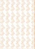 Teste padrão sem emenda com ornamento floral ilustração stock