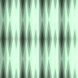 Teste padrão sem emenda com os diamantes na cor verde Foto de Stock