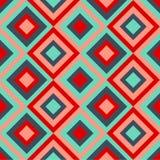 Teste padrão sem emenda com rhombus Ilustração Royalty Free