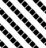 Teste padrão sem emenda com rombo preto Imagens de Stock Royalty Free