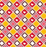 Teste padrão sem emenda com rombus colorido Imagem de Stock Royalty Free